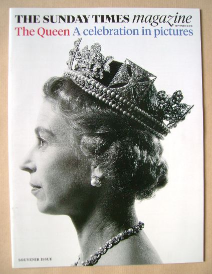 <!--2015-09-06-->The Sunday Times magazine - The Queen cover (6 September 2