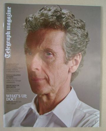 <!--2015-09-12-->Telegraph magazine - Peter Capaldi cover (12 September 201
