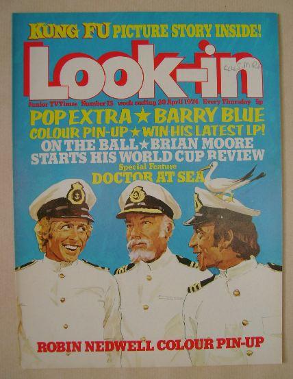 <!--1974-04-20-->Look In magazine - 20 April 1974