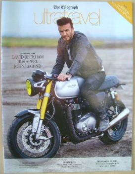 Ultratravel magazine - David Beckham cover (Autumn 2015)