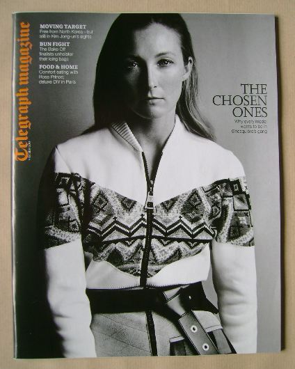 <!--2014-10-04-->Telegraph magazine - Maggie Rizer cover (4 October 2014)