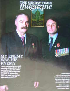 <!--2010-01-03-->The Sunday Times magazine - My Enemy Was His Enemy cover (