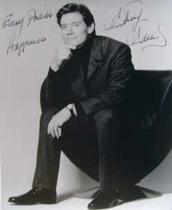 Anthony Andrews autograph (hand-signed photograph)