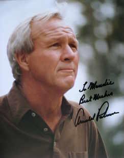 Arnold Palmer autograph