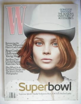 W magazine - August 2006 - Natalia Vodianova cover