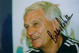 Bobby Robson autograph