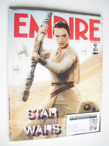 <!--2016-01-->Empire magazine - Rey and BB-8 cover (January 2016)