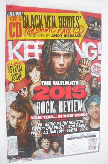<!--2015-12-12-->Kerrang magazine - The Ultimate 2015 Rock Review (12 Decem