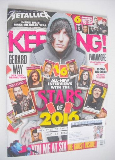 <!--2016-01-02-->Kerrang magazine - Stars Of 2016 Issue (2 January 2016 - I