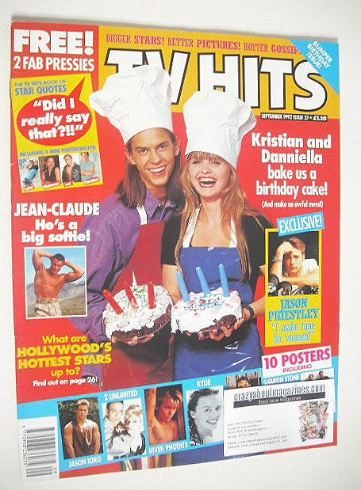 <!--1992-09-->TV Hits magazine - September 1992 - Kristian Schmidt & Dannie