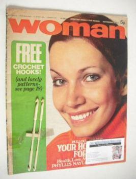 Woman magazine (13 November 1971)