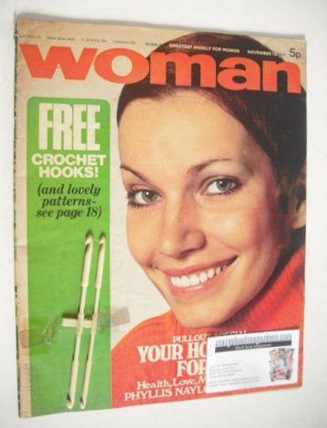 <!--1971-11-13-->Woman magazine (13 November 1971)