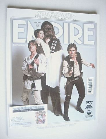 <!--2007-07-->Empire magazine - Star Wars cover (July 2007 - Subscriber's I