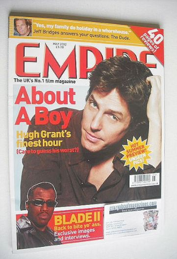 <!--2002-05-->Empire magazine - Hugh Grant cover (May 2002 - Issue 155)