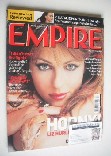 <!--2000-12-->Empire magazine - Liz Hurley cover (December 2000 - Issue 138