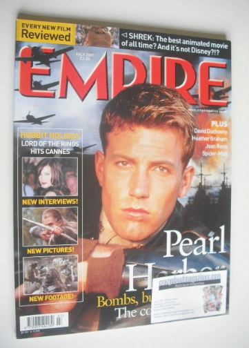<!--2001-07-->Empire magazine - Ben Affleck cover (July 2001 - Issue 145)