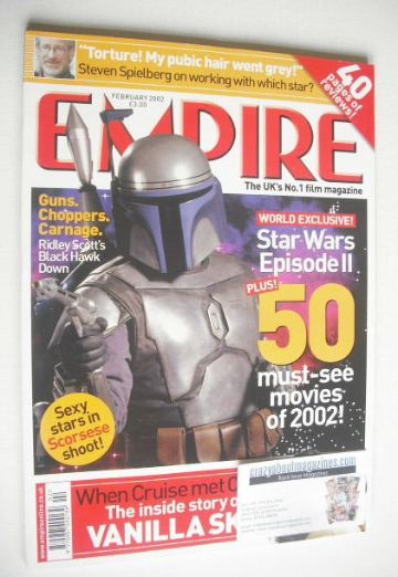 <!--2002-02-->Empire magazine - Star Wars cover (February 2002 - Issue 152)