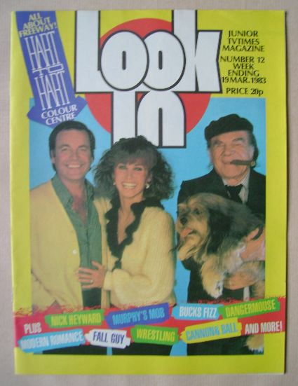 <!--1983-03-19-->Look In magazine - Hart To Hart cover (19 March 1983)