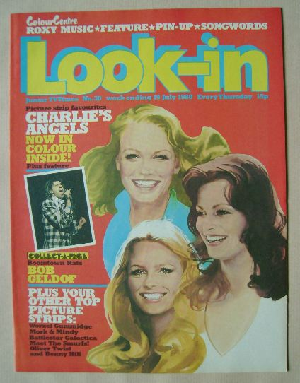 <!--1980-07-19-->Look In magazine - Charlie's Angels cover (19 July 1980)