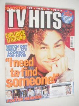 TV Hits magazine - November 1996 - TJ cover