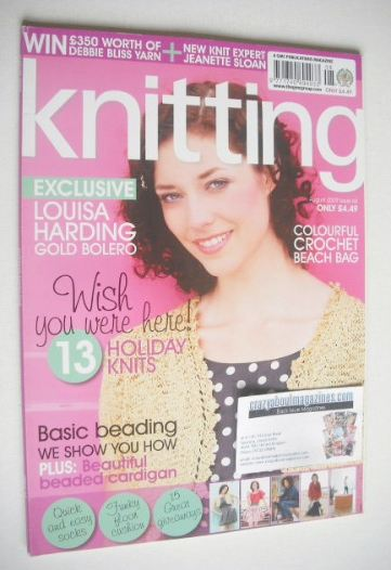 <!--2009-08-->Knitting magazine (August 2009 - Issue 66)