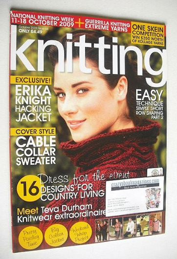 <!--2009-10-->Knitting magazine (October 2009 - Issue 68)