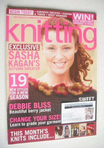 <!--2008-10-->Knitting magazine (October 2008 - Issue 55)