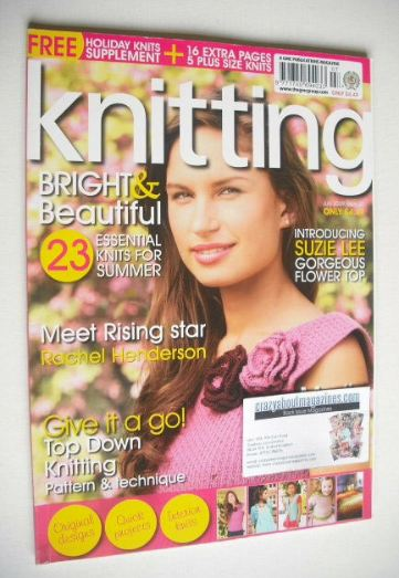 <!--2009-07-->Knitting magazine (July 2009 - Issue 65)
