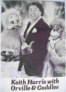 Keith Harris autograph