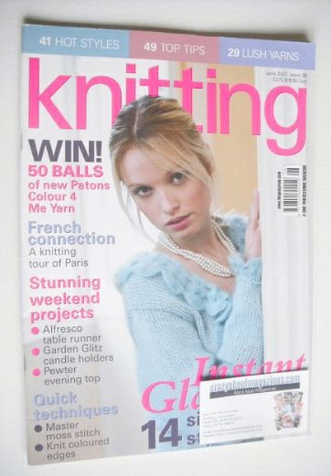 <!--2007-06-->Knitting magazine (June 2007 - Issue 38)