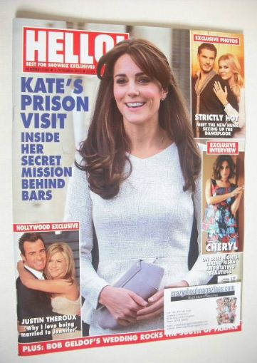 <!--2015-10-05-->Hello! magazine - The Duchess of Cambridge cover (5 Octobe