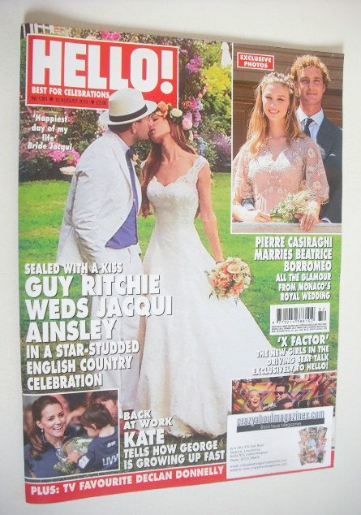 <!--2015-08-10-->Hello! magazine - Guy Ritchie and Jacqui Ainsley wedding c