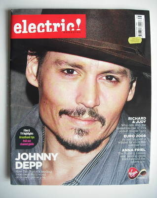 Electric! magazine - Johnny Depp cover (Summer 2008)