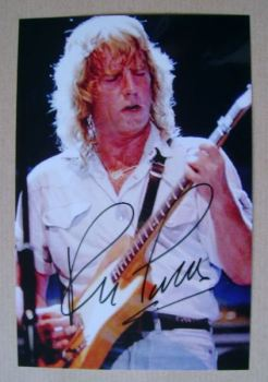 Rick Parfitt autograph