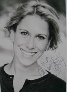 Anna Jane Casey autograph (hand-signed photograph)