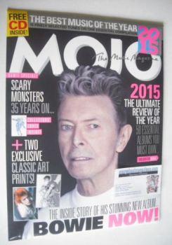 MOJO magazine - David Bowie cover (January 2016)