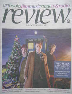 The Daily Telegraph Review newspaper supplement - 19 December 2009 - Bernar