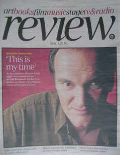 The Daily Telegraph Review newspaper supplement - 6 February 2010 - Quentin