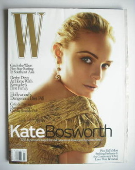 W magazine - July 2006 - Kate Bosworth cover