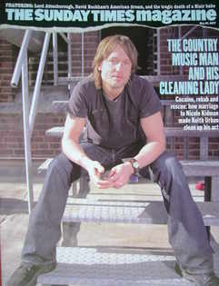 <!--2007-05-20-->The Sunday Times magazine - Keith Urban cover (20 May 2007