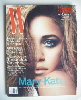 W magazine - January 2006 - Mary-Kate Olsen cover