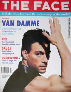 <!--1992-03-->The Face magazine - Jean-Claude Van Damme cover (March 1992 -