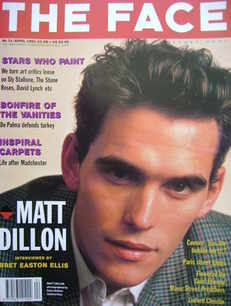 <!--1991-04-->The Face magazine - Matt Dillon cover (April 1991 - Volume 2
