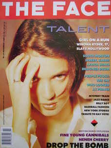 <!--1989-11-->The Face magazine - Winona Ryder cover (November 1989 - Volum