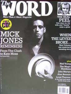 The Word magazine - Mick Jones cover (November 2005)
