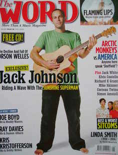 The Word magazine - Jack Johnson cover (May 2006)
