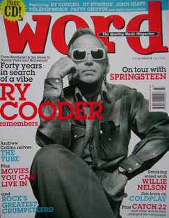 The Word magazine - Ry Cooder cover (July 2005)