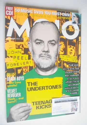 <!--2004-12-->MOJO magazine - John Peel cover (December 2004 - Issue 133)