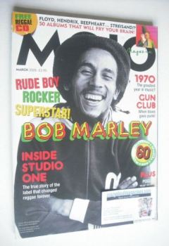 MOJO magazine - Bob Marley cover (March 2005 - Issue 136)
