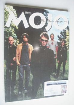 MOJO magazine - Radiohead cover (August 2003 - Issue 117)
